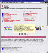Expert Software Services Web Site