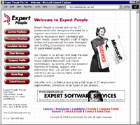 Expert People Web Site