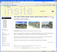 Insite Architects Web Site