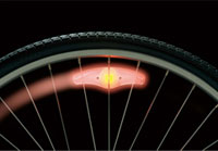 Cateye Orbit SL-LD120 Spoke Mounted Safety Light Set