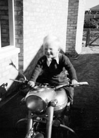 Lloyd on Triumph TR6