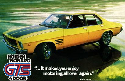 1973 Holden HQ Monaro GTS 4-door sold
